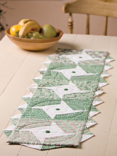 Goin' Green Table Runner Pattern
