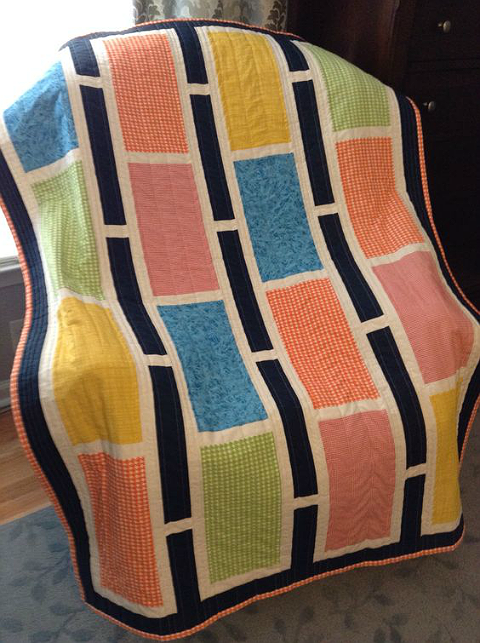 Baby Boy Rectangle Reverie Quilt