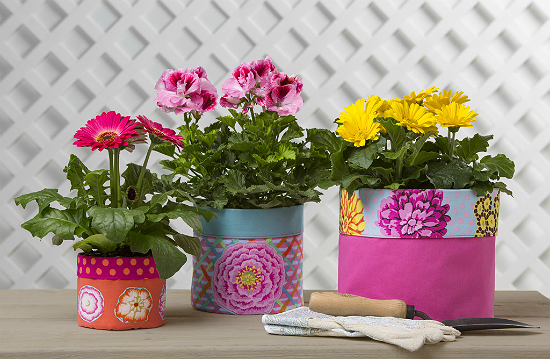 Fabric Flower Pot Covers