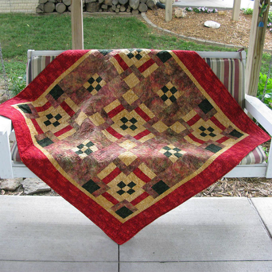 Connect Four Quilt Pattern
