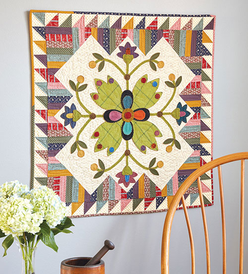 Picket Fence Blooms Quilt Pattern