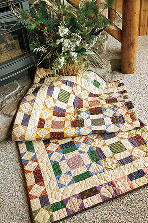 Quilting Digest Free Patterns : A Beautiful Quilt to Make from Your Stash - Quilting Digest