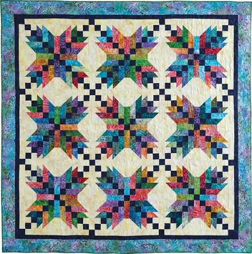 Jamaican Stars Quilt Pattern