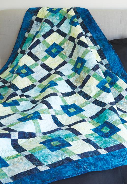 Lime Grape Fizz Quilt Pattern