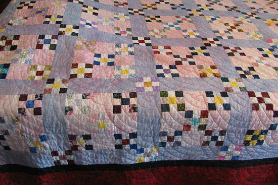 Quilt Whose Colors Have Bled