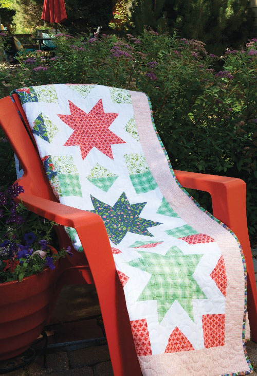 Star Kisses Quilt Pattern