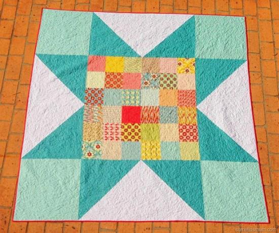 Bohemian Star Quilt Pattern