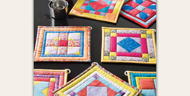 Bright Ideas Pot Holders