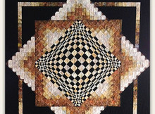 Convex Illusions Quilt Pattern