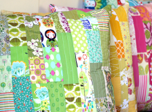 Scrappy Patchwork Floor Pillows
