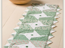 Goin' Green Table Runner Pattern