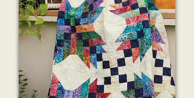 Big Blocks Create A Dynamic Quilt Quilting Digest