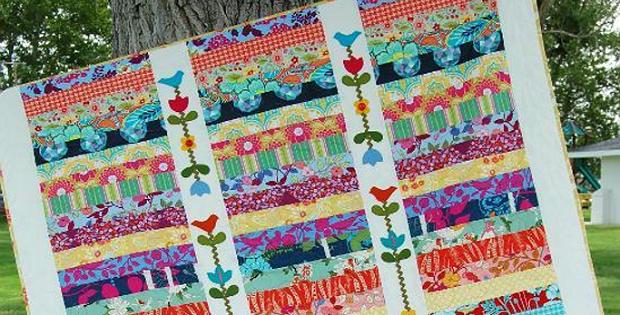 Midsummer Garden Trellis Quilt