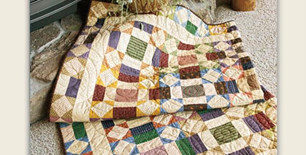Paper Chain Quilt Pattern