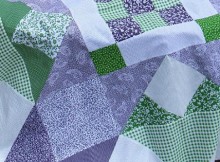 Picnic Star Quilt Pattern