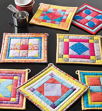 Bright Ideas Pot Holders Pattern