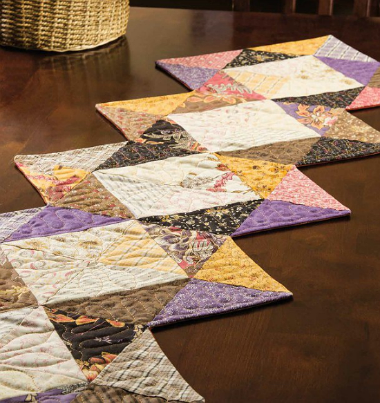 Scrappy Fun Table Runner