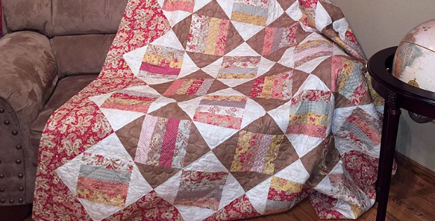Spinning Wheels Quilt Pattern