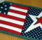 Stars and Stripes Mug Rug