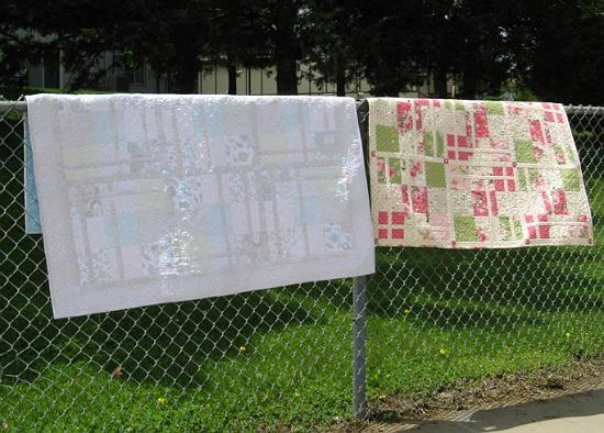 Windows On My Garden Quilt Pattern