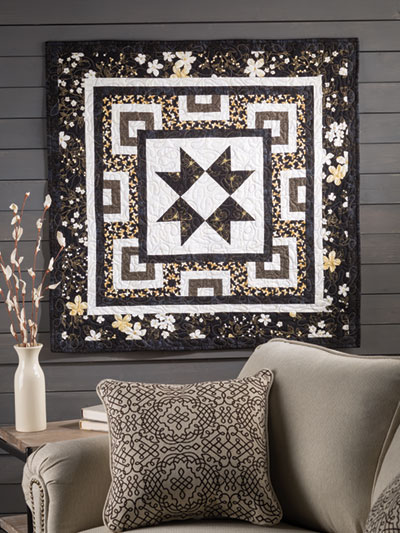 Midnight Star Quilt Pattern