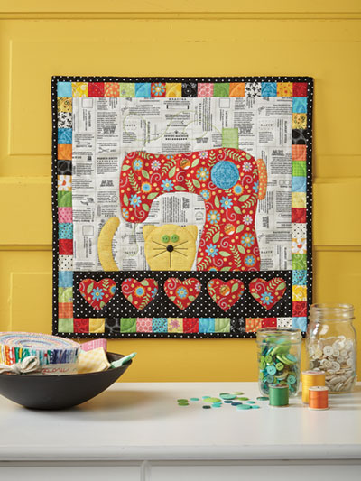Purrfect Day Wall Hanging