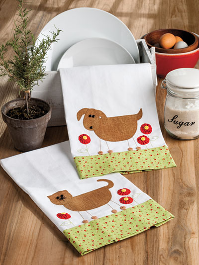 Love My Pets Tea Towel Set