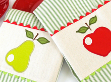 Apple & Pear Kitchen Towels