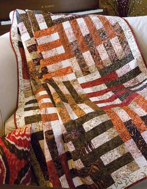 Nutmeg and Cinnamon Quilt Pattern