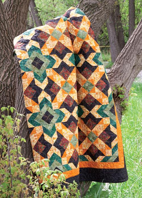 Rudeneja Quilt Pattern