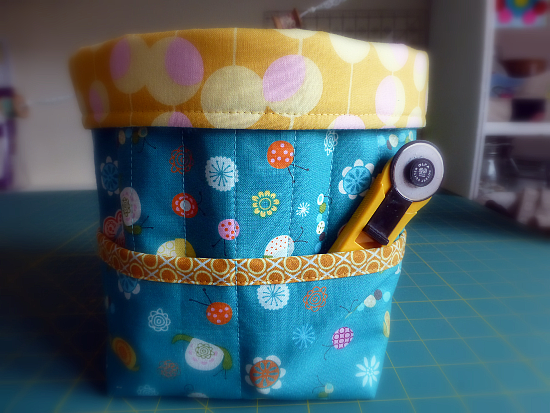 Fabric Storage Caddy Pattern