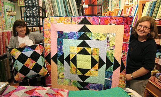 Facets Quilt Pattern