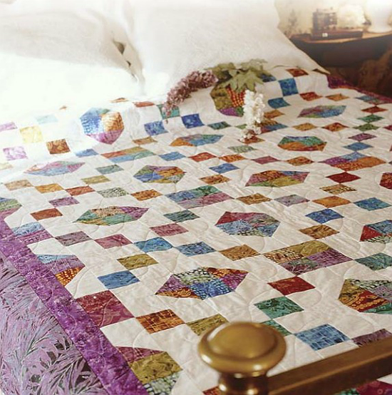 Choose Beautiful Batiks For An Easy Quilt