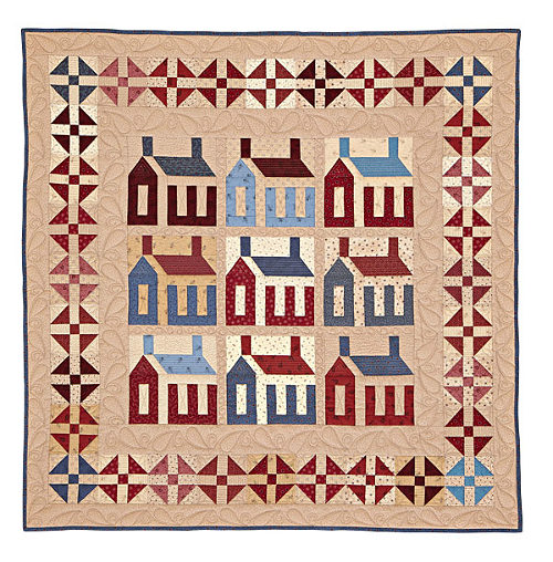 Americana Home Quilt Pattern