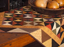 Autumn Harvest Table Topper Pattern