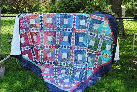 Batik Beauty Quilt