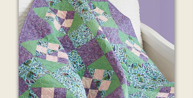 Bellflower Quilt Pattern