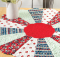 Cherry Round About Quilt Pattern