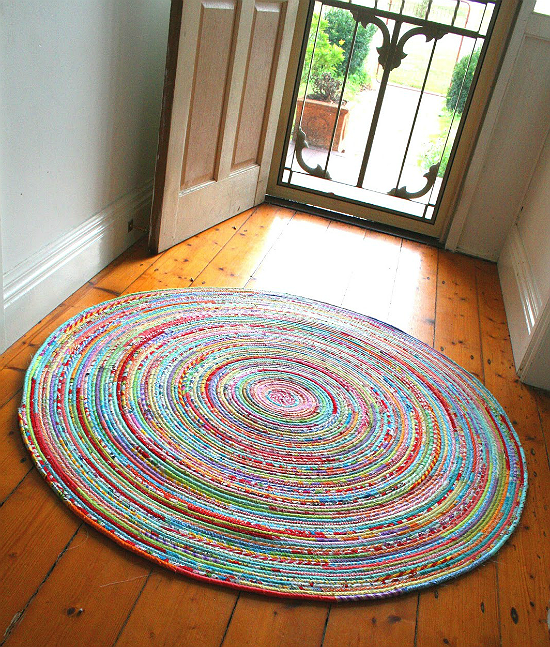 Fabric Rug Tutorial