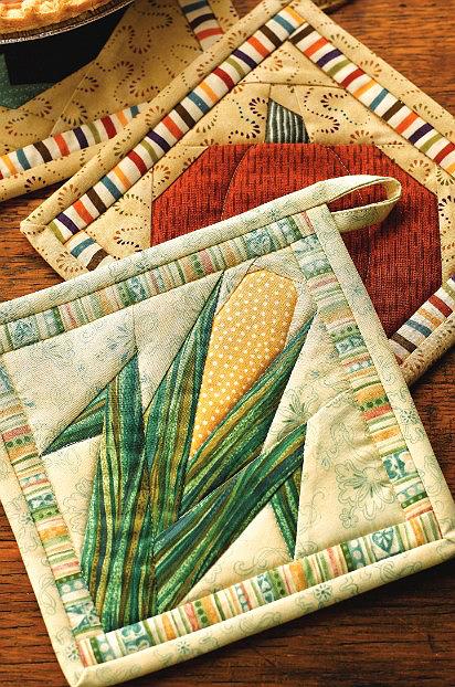 Veggie Pot Holders Pattern