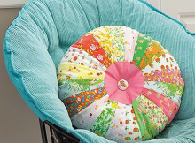 Dresden Wedge Pillow Pattern