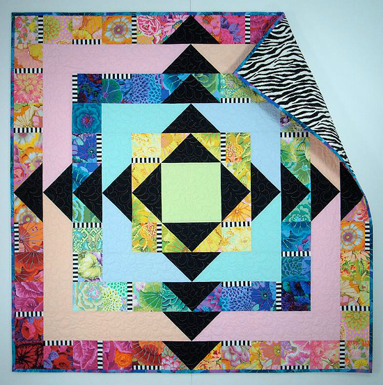 Facets Quilt Pattern