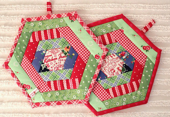 Hexie Potholders
