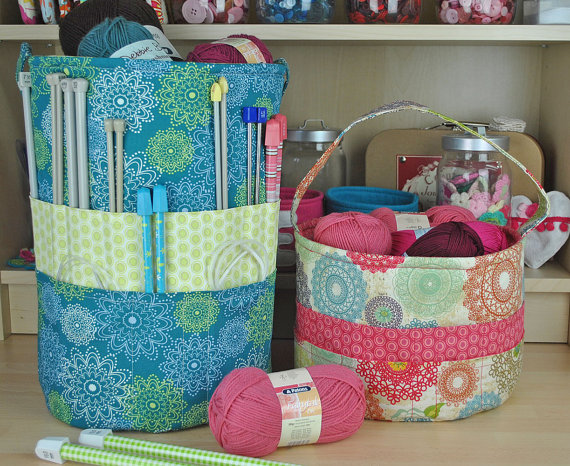 Knitting Pattern Storage Bag : The Ultimate Totes for Knitting and Crochet - Quilting Digest