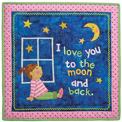 Love You to the Moon Quilt Pattern