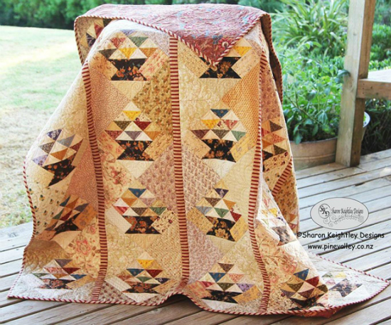 Scrappy Baskets Quilt Pattern