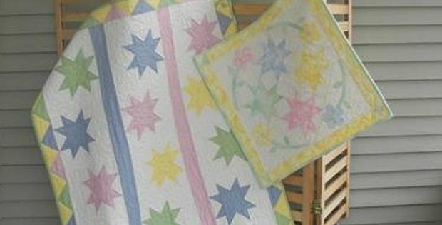 Star Baby Quilt Pattern