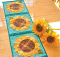 Patchwork Sunflower Table Runner