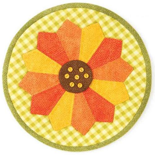 Sunny Sunflower Pot Holder