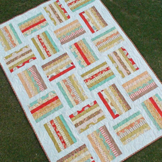The Loaded Sandwich Quilt Pattern